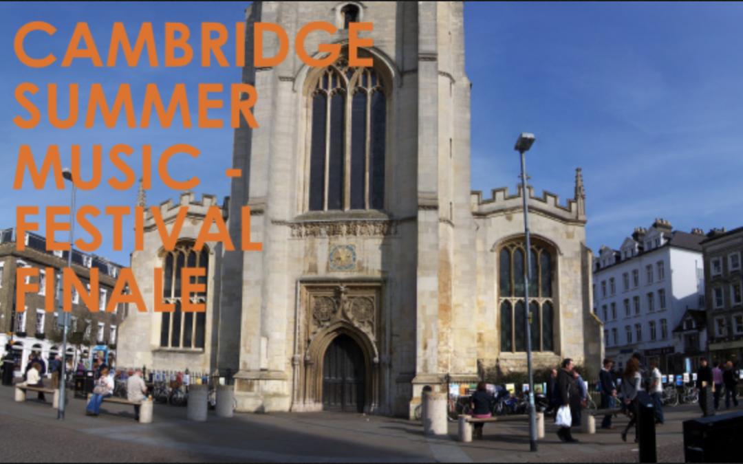 Cambridge Festival Finale