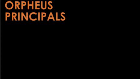 Orpheus Principals