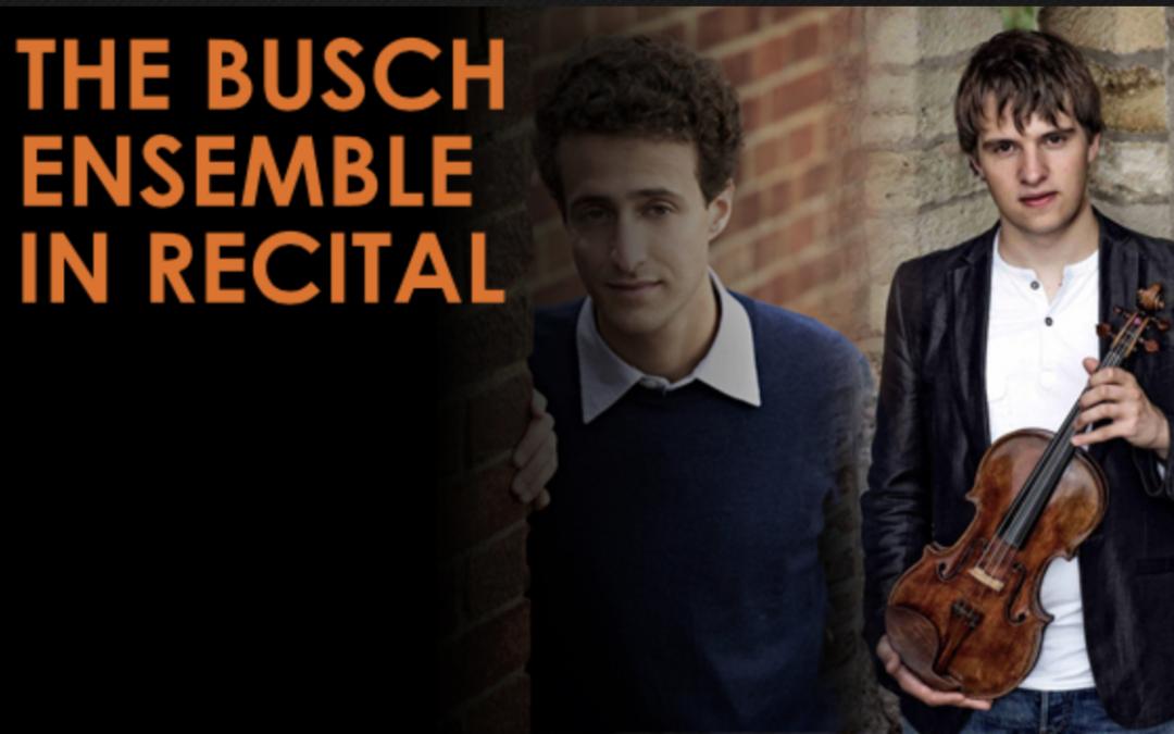 The Busch Ensemble in Recital