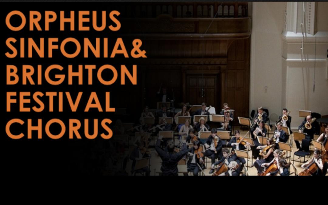 Orpheus Sinfonia & Brighton Festival