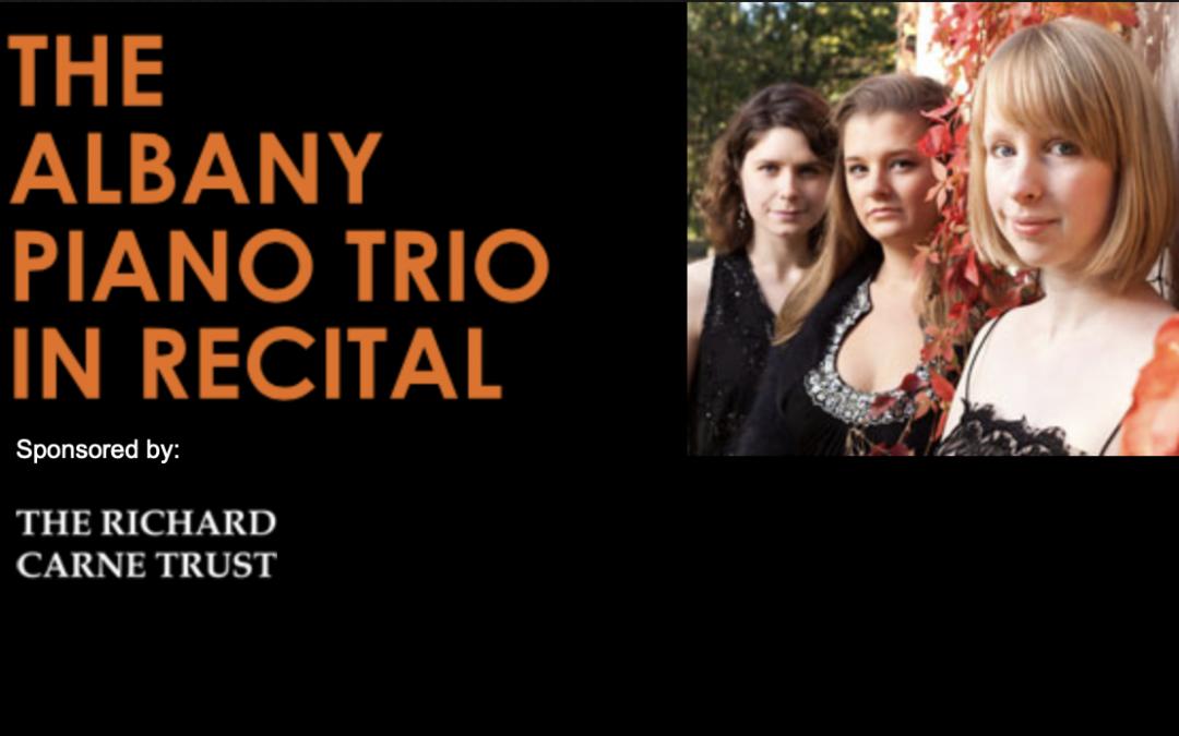 The Albany Piano Trio in Recital