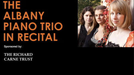 The Albany Piano Trio in Recital