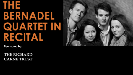 The Bernadel Quartet in Recital