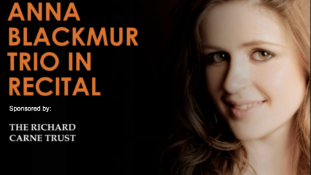 Anna Blackmur Trio in recital