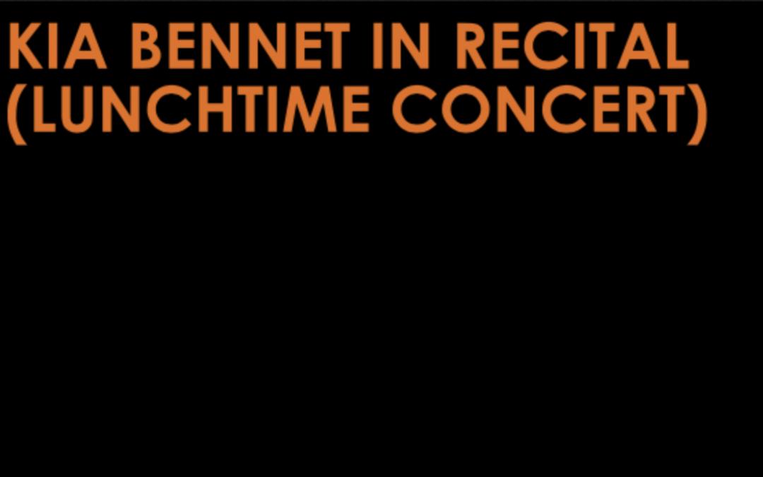 Kia Bennett in Recital – Orpheus Sinfonia